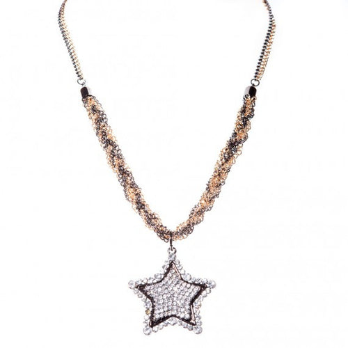 Star Necklace | Gold