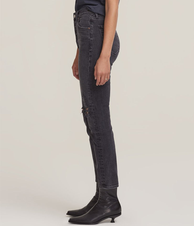 Nico High Rise Slim Fit Jeans in Casette