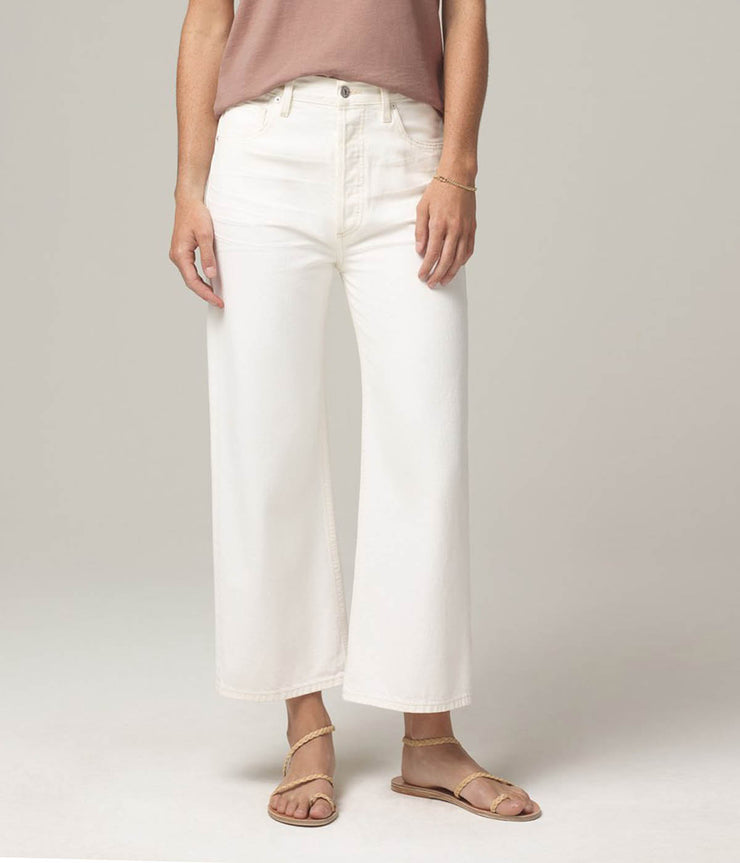 Sacha High Rise Wide Leg Jeans in Idyll
