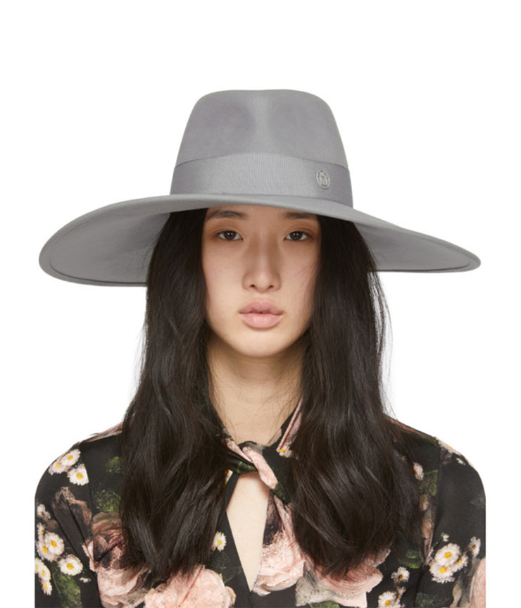 The Pina Felt Hat in Grey