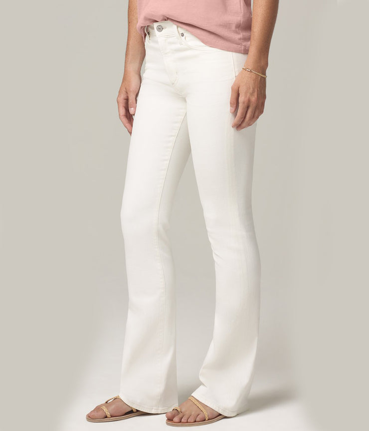 Emannuelle Slim Boot Jeans in Sea Salt