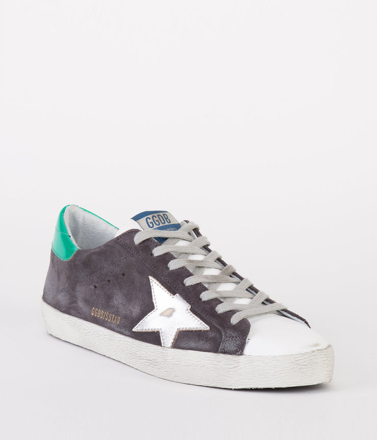 Sneakers Superstar in Silver and Grey