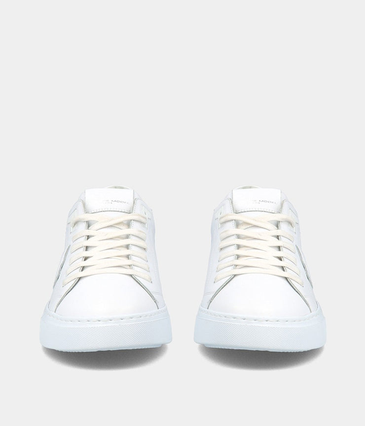 Temple LD Sneakers in Veau Blanc