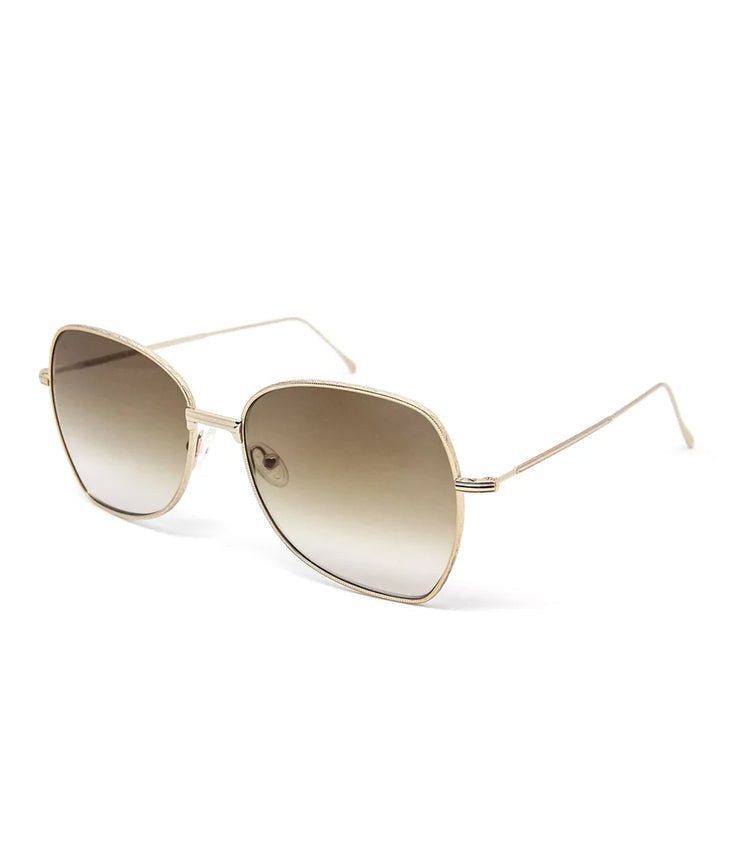 Amelie Sunglasses in Gold