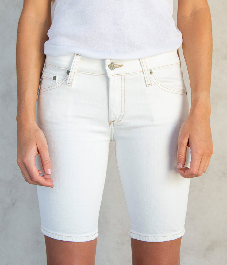 The Nikki Jean Shorts in Neutral White