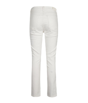 Olivia High Rise Slim Ankle in Idyll Soft White