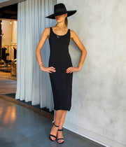 The Pina Felt Hat in Black