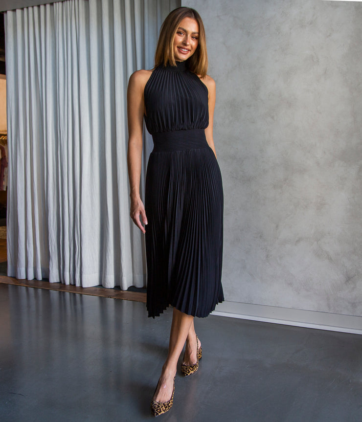 Renzo Dress in Black