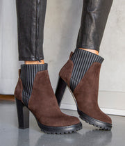 Cannete Stretch Boots in Fondente