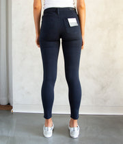 The Farrah Skinny Ankle Jeans in Sulfur Dark
