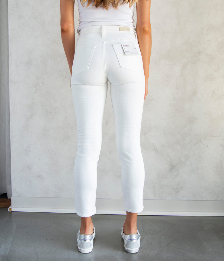The Isabelle Jeans in Tonal White