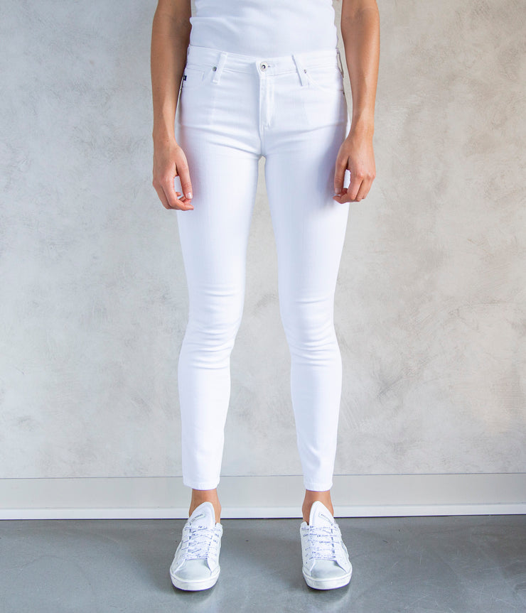 The Prima Jeans in White