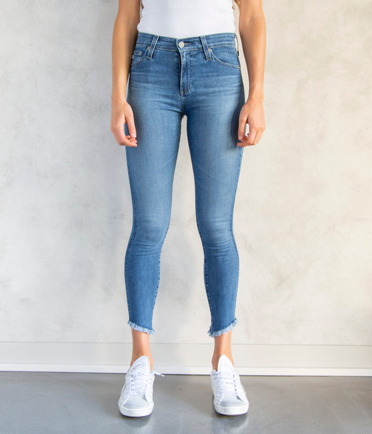 The Farrah Skinny Ankle Jeans in Chronic