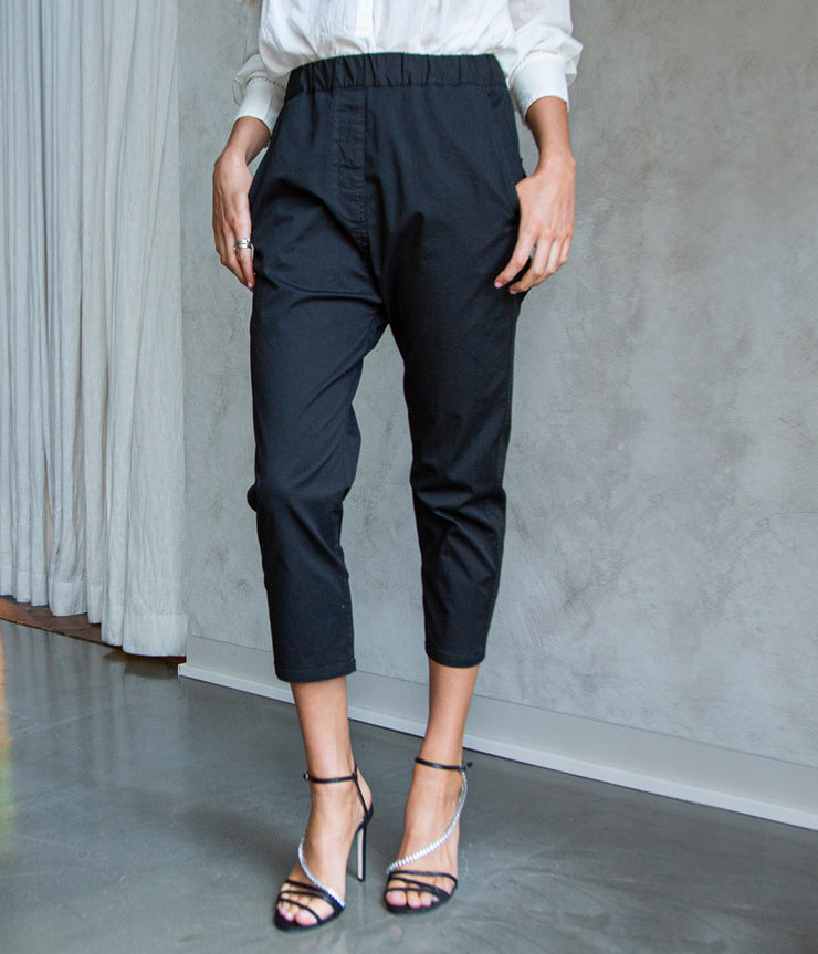 Casablanca Pant in Jet Black