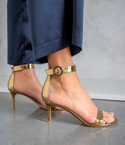 Portofino 70 Gold Metal Mekong Sandals