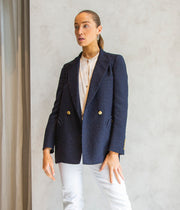 Esense Everyday Blazer in Navy Blue