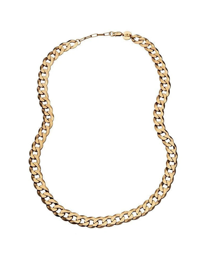 Angie Necklace in 14k Yellow Gold Plated Silver