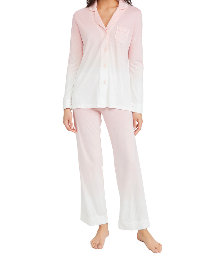 Bella Longsleeve Top & Pant PJ Set in Fiore