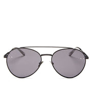 Rounded Aviator in Black