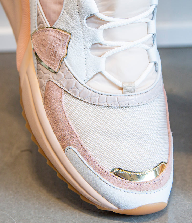 Eze LD in Croc Beige Rose