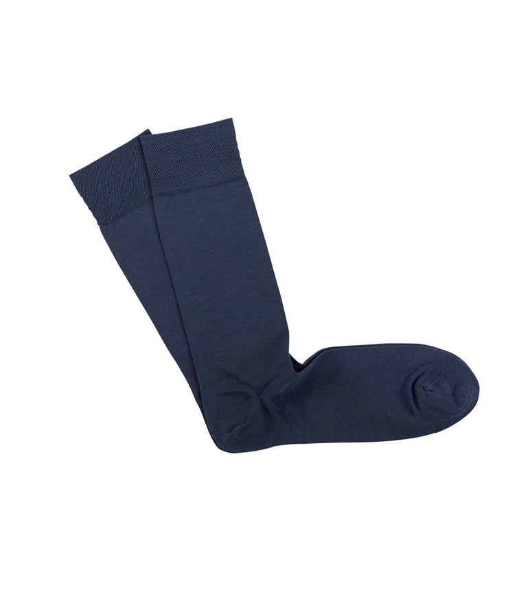 Mens Pima Cotton Sock in Avio