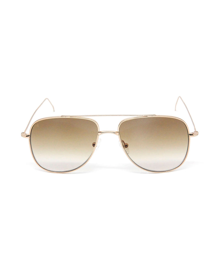 Danny Sunglasses in Shiny Red Gold