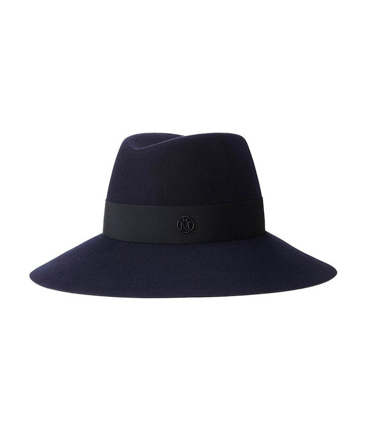 The Kate Felt Hat in Navy