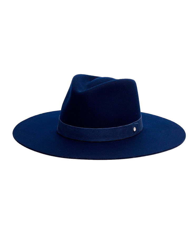 Kacy Fedora in Navy