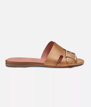 Antibes Slides in Light Brown