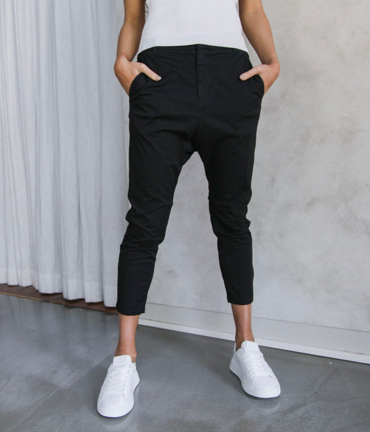 Paris Pants in Jet Black