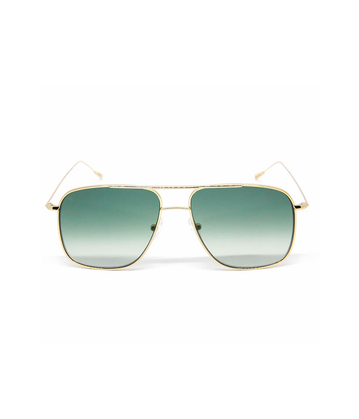 Myke Sunglasses in Shiny Yellow Gold