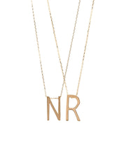 Alphabet Necklace in Gold