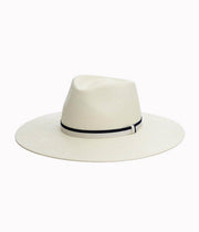 Wide Brim Panama in White