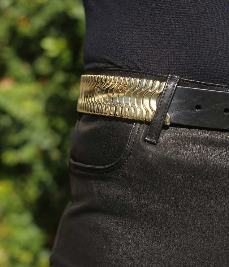 The Calexico Gold Rebel Belt