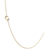 Maya Brenner Initial 14k Gold Necklace