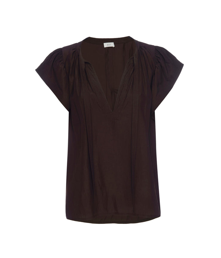 Carmen Top in Umber
