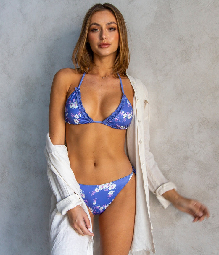 Harbor Bikini in Set in Grape