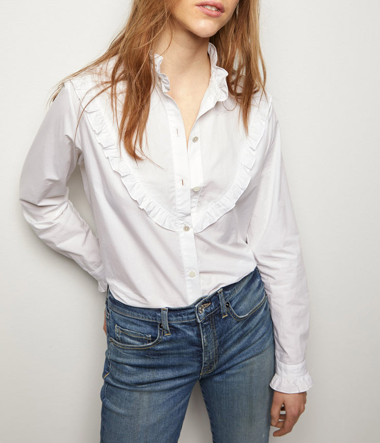 Marcela Shirt in White