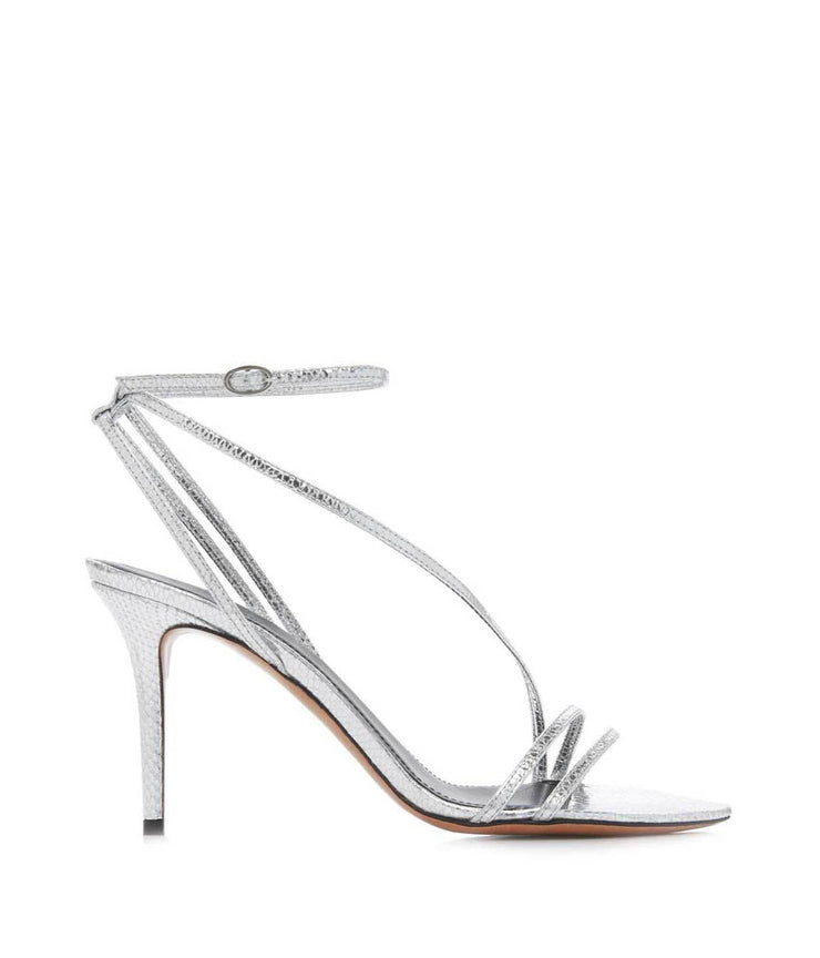 Axee Sandals in Silver