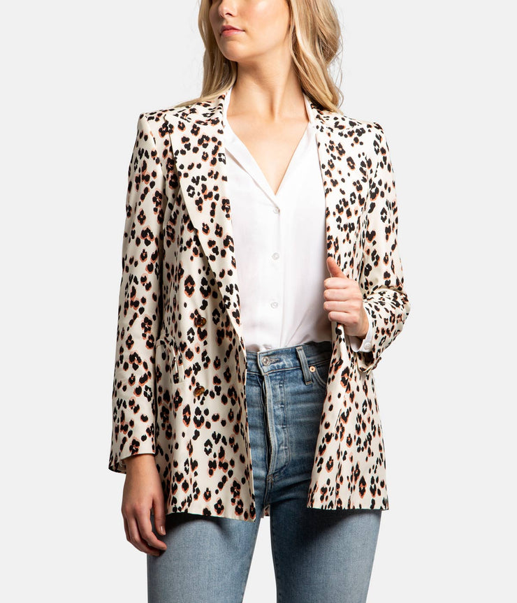 Animal Print Manitou Blazer