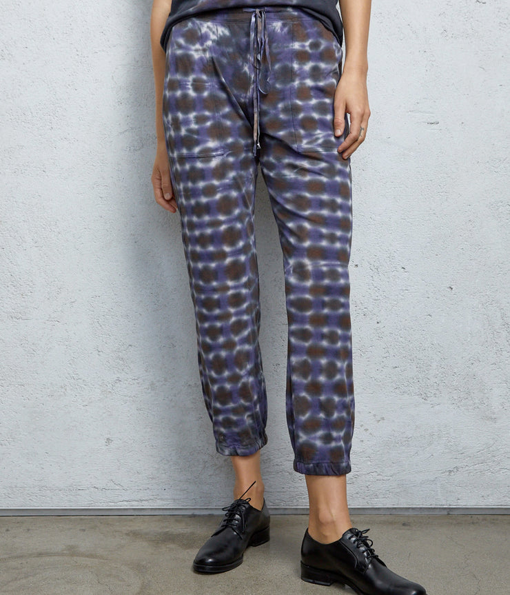 Pant Tie Dye in Night Orchid