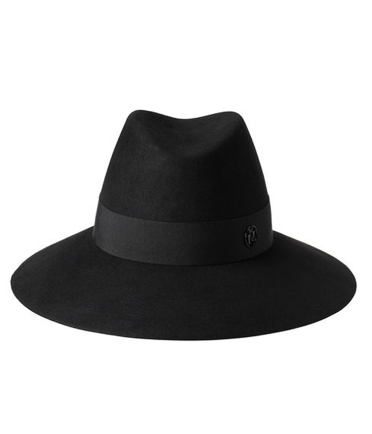 The Kate Felt Hat in Black