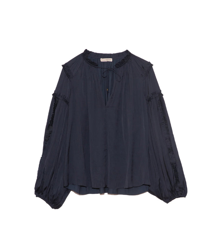 Maeve Blouse in Midnight