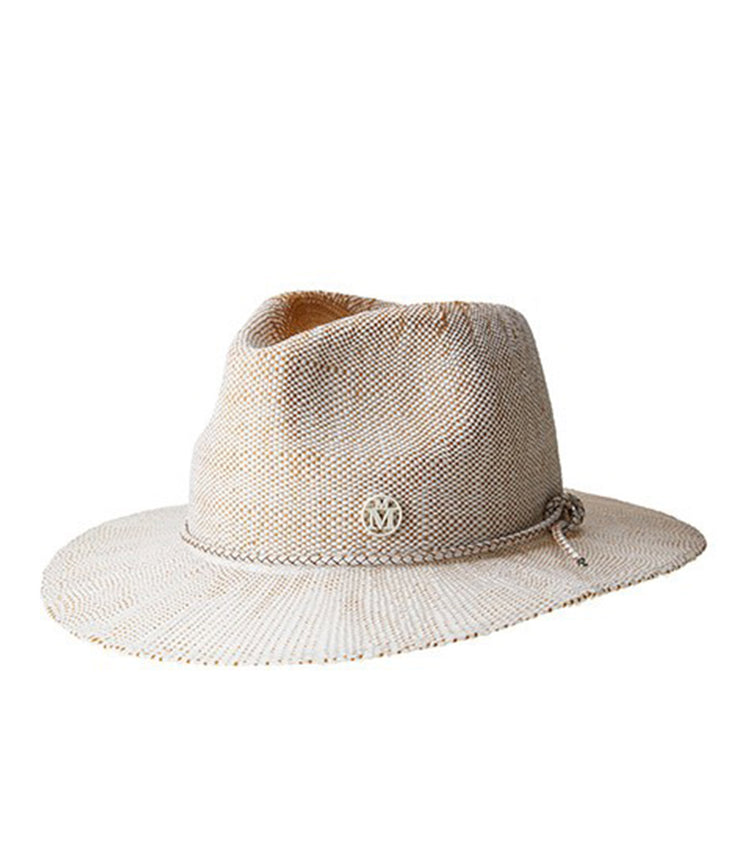 The Rico Hat in White Camel