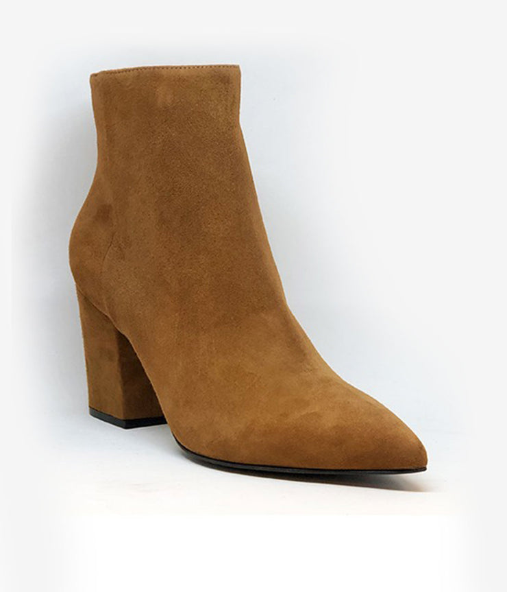 Sergio 75 Suede Boots in Tan Wood