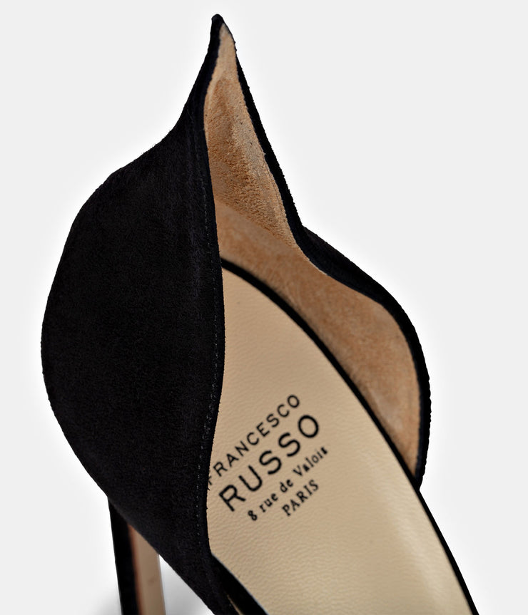 Giulia Suede Black Pump