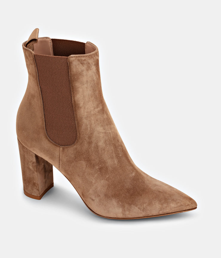 Suede Tan Camel Myers Boots