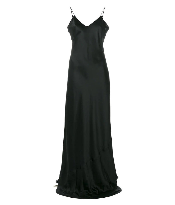 Cara Cami Gown in Black