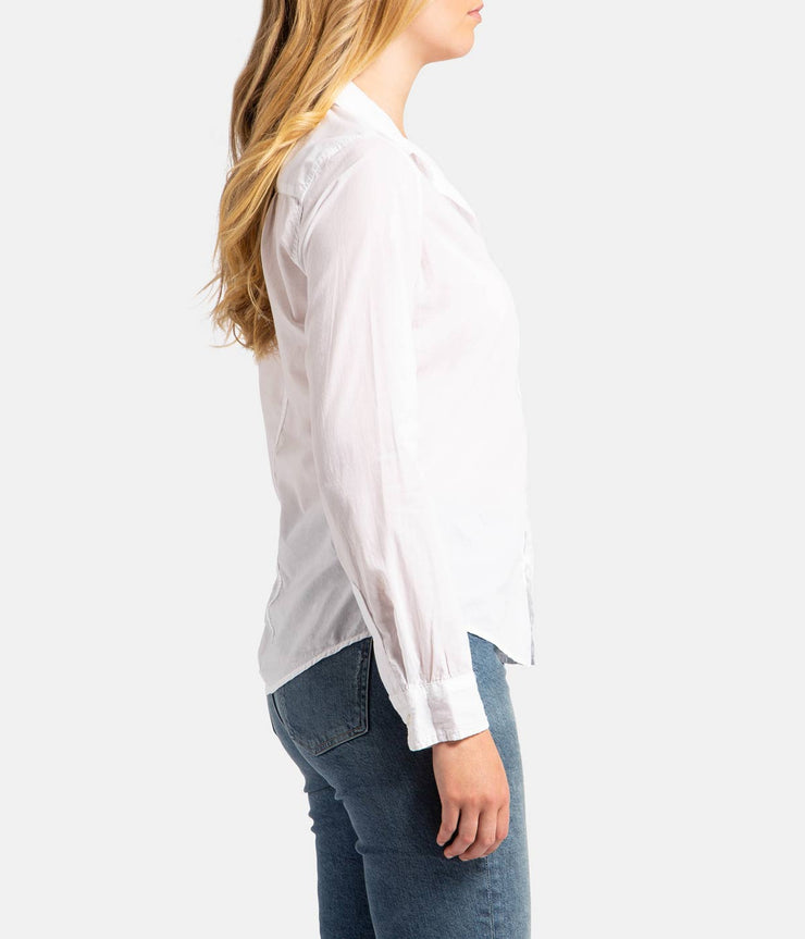 Barry Button Down Poplin Cotton Shirt