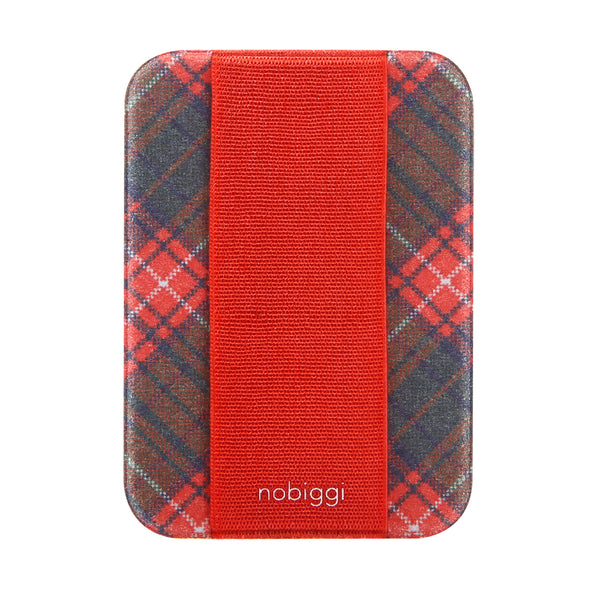 nobiggi OG Art Series - Tartan Pixel Red